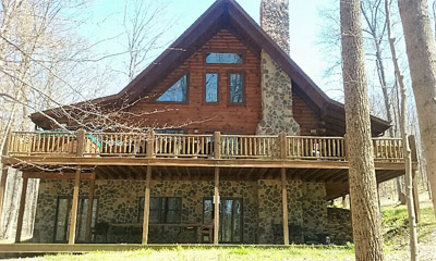 Heaven on Earth - 6 bedroom cabin, pool table, WiFi