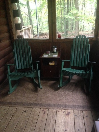Screened Porch - Woods