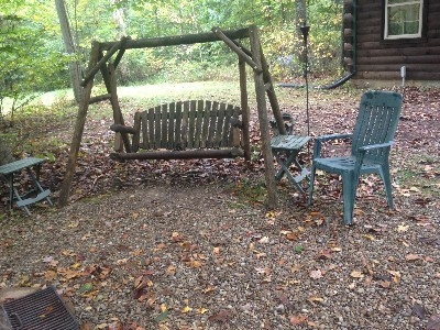 Outside seating - Woods