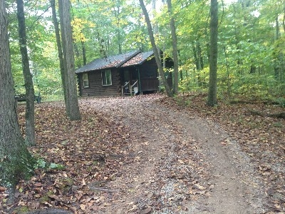 The Woods - The closest cabin is a quarter mile away.
