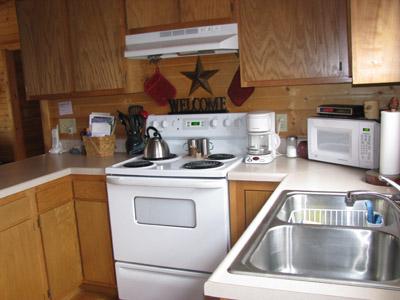 Big Pine kitchen