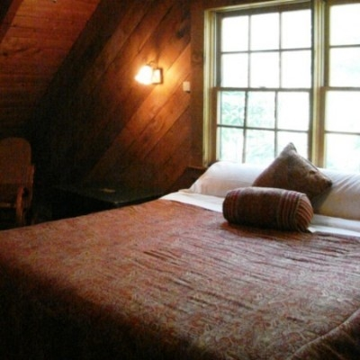 Upstairs Bedroom King Bed