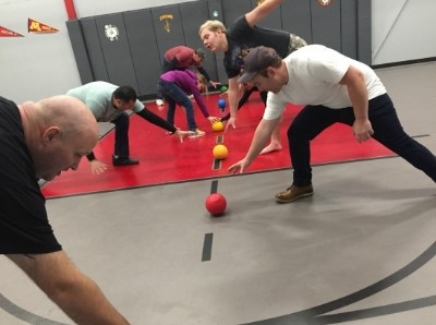 Dodgeball - Our amazing Dodgeball and 30x 40 indoor Basketball court is the only one in Hocking Hills all under air and heat