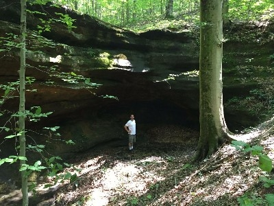 Our Private Hiking Trail - Enjoy gorges, creeks and seasonal waterfalls on our own private 0.5 mile hiking trail