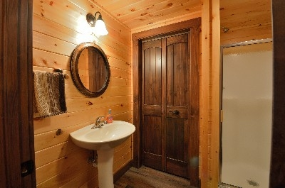 Serenity Now - Basement Bathroom