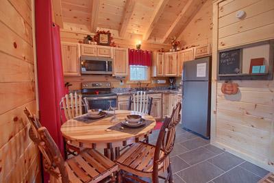 Fully Stocked Kitchen - Hickory Table set