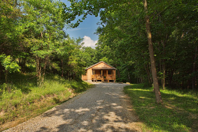 Private Drive - You are nestled in the woods super private
