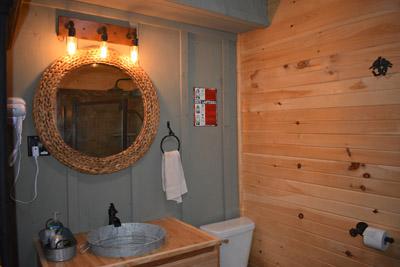 Bathroom - Rustic luxury
