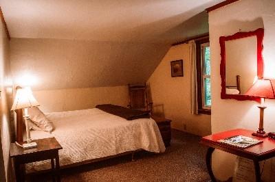 Bedroom - King Bedroom - King size bed.