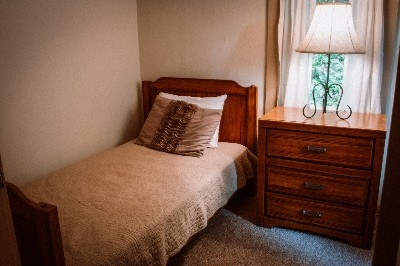 Bedroom - Twin Beds - Two twin beds in one room.