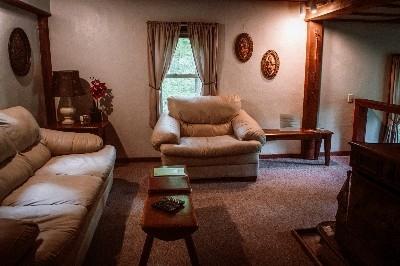 Living Room at Cedar House - Living Room at Cedar House