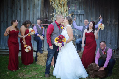 Hocking Hills Farm Wedding - Come on down to the Farm and get married! For more info, check us out at HockingHillsFarm.com.