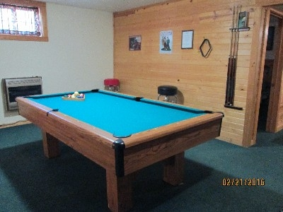 Pool Table - Regulation size pool table.