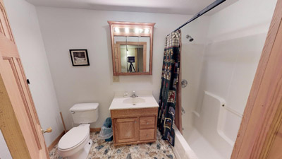 Full Bath Room - Lower level Bathroom