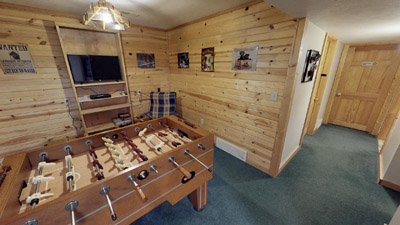Foosball room - Lower Level