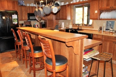 Heartland Lodge Kitchen - This 16 person lodge has an amazing gourmet kitchen