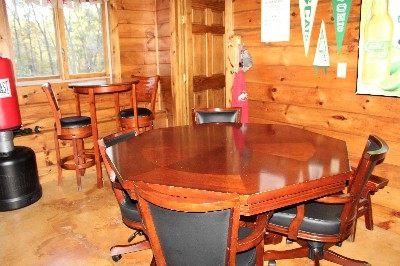 Heartland Lodge Game Room - This game table is just one of the many features in this room.