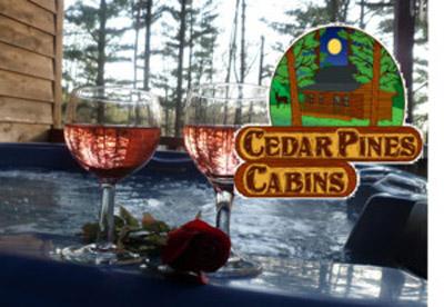 Logo - Cedar Pines Cabins LLC