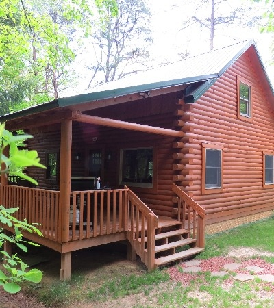 Preserve Cabin - Exterior View