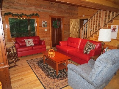 Preserve Cabin - Living Room