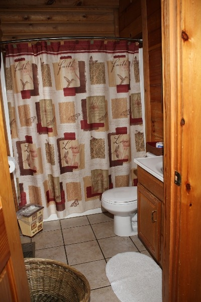 Bathroom - Includes one private bathroom.