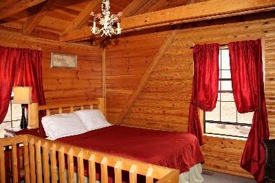 Loft Bedroom - Comfortable queen bed located in the loft.
