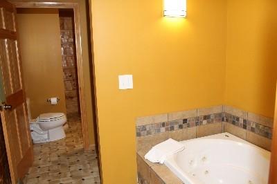 Bathroom - Jack and Jill bathrooms include a jacuzzi tub.