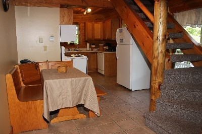 Dining room / Kitchen - Includes a fully equipped kitchen and dining room.