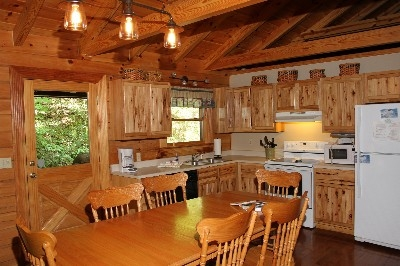 Kitchen - Fully equipped kitchen includes all pots, pans, etc.
