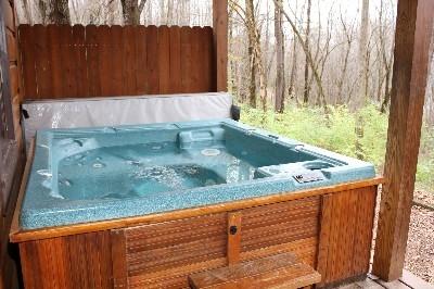 Hot Tub - Full size hot tub.