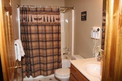 Bathroom - One of four bathrooms.