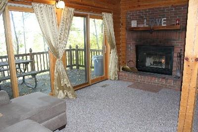 Van Buren 2 Fireplace  - Wood Burning Fireplace
