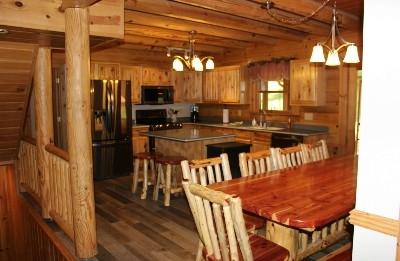 Sunrise Retreat Kitchen  - Full Kitchen and wet bar downstairs