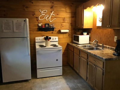 Tall Pines Kitchen - Very well equipped kitchen. We have tried to think of everything to make your stay super comfortable