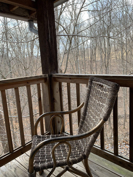 Lower Porch  - Lower covered porch accessible from first floor.