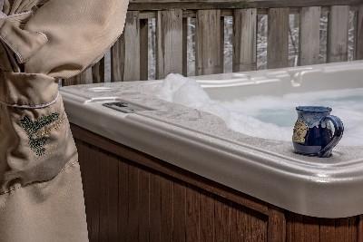 The Sinclair Croft - the Sinclair Croft hot tub