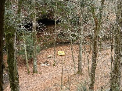 Our Little Ash Cave - On the property