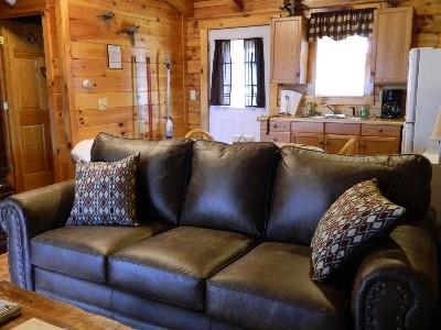 The Landing - Living room.