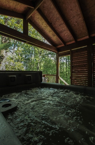 A-Frame 1 - Hot Tub / Deck