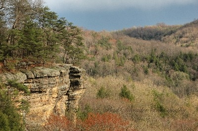 Conkles Hollow Rim  Trail - One of many of my favorite places to go.