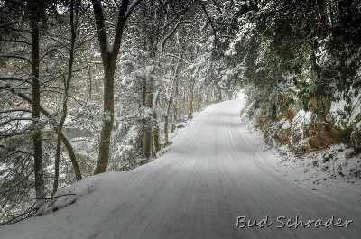 Clear Creek Winter Wonderland - This is a great drive after a snow, peaceful and tranquil except for oposing traffic.